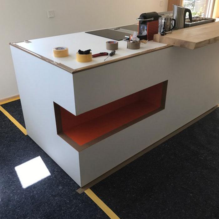 Moderne Tresen Küche